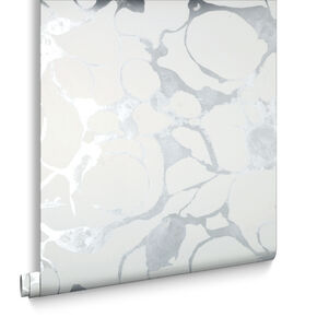 Splash Silver Wallpaper, , large