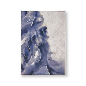 Serene Waves Framed Canvas Wall Art , , large