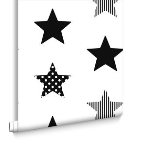 Superstar Black Wallpaper, , large