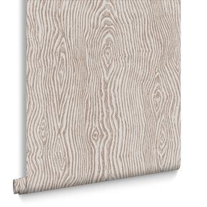 Cypress Beige & Rose Gold Behang, , large