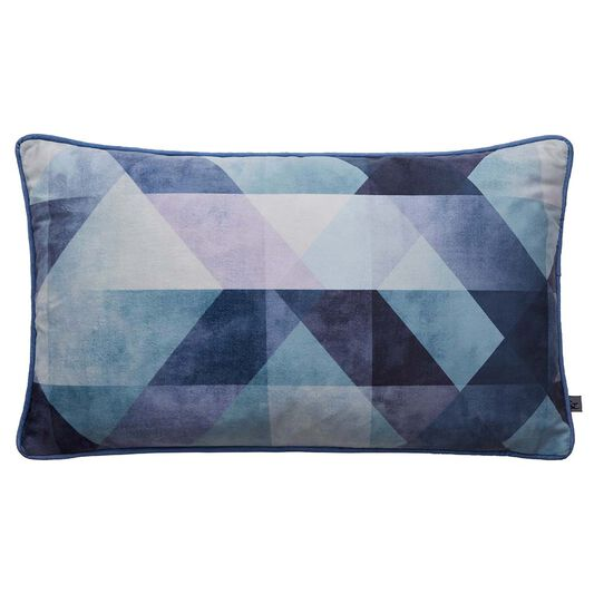 Coussin Dimension Bleu, , large