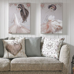 Grace Printed Canvas Wall Art, , large