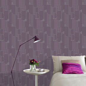 Ponder Plum Wallpaper, , large