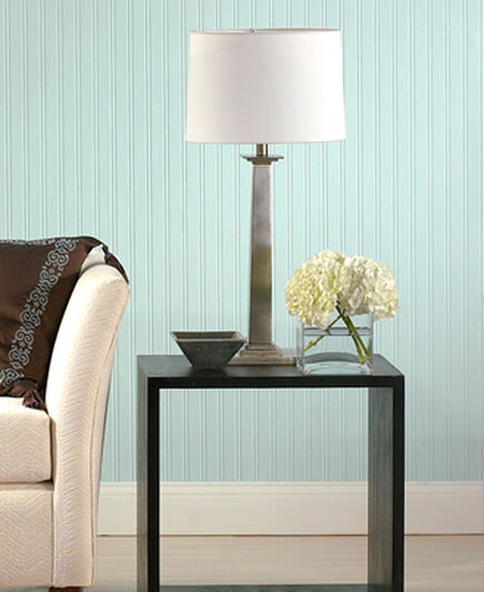 Beadboard Paintable Wallpaper Wallpaper, , large