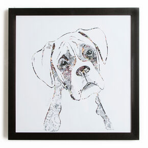 Boxer Framed Wall Art Print, , large