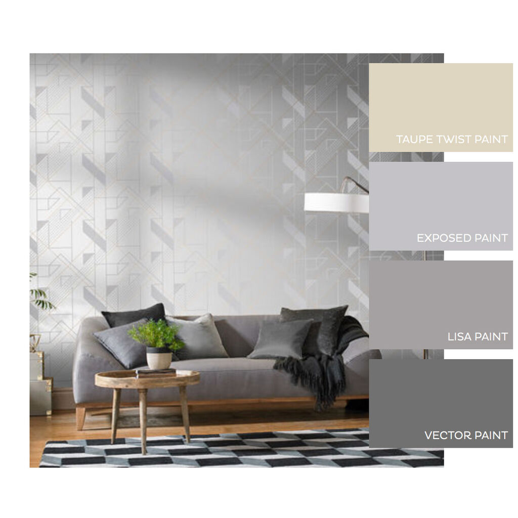 Graphic Reflect Wallpaper, , large