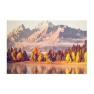 Bedruckte Leinwand Autumnal Mountains, , large