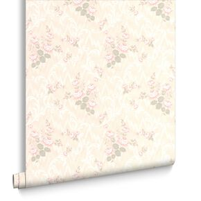 Jocelyn Pink Wallpaper, , large