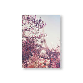 Paris In Bloom Printed Canvas Wall Art, , large