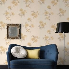 Rome Gold Wallpaper, , large