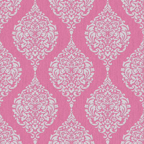 Luna Hot Pink Wallpaper, , large