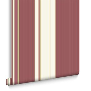 Gradient Stripe Red Wallpaper, , large