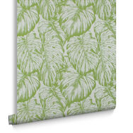 Tropical Parakeet Wallpaper, , large