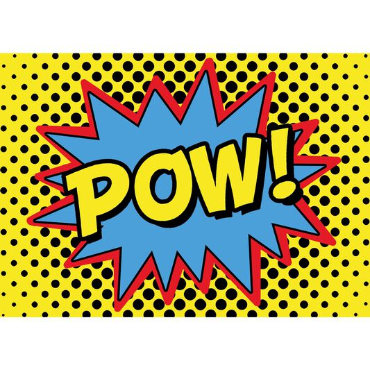 Pow Canvas, , large