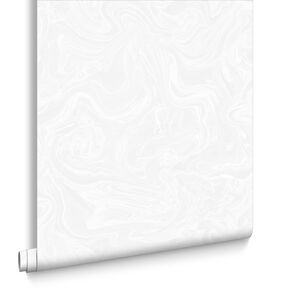 Marbled White and Pearl Wallpaper, , large