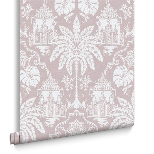 Imperial Pink Wallpaper, , large