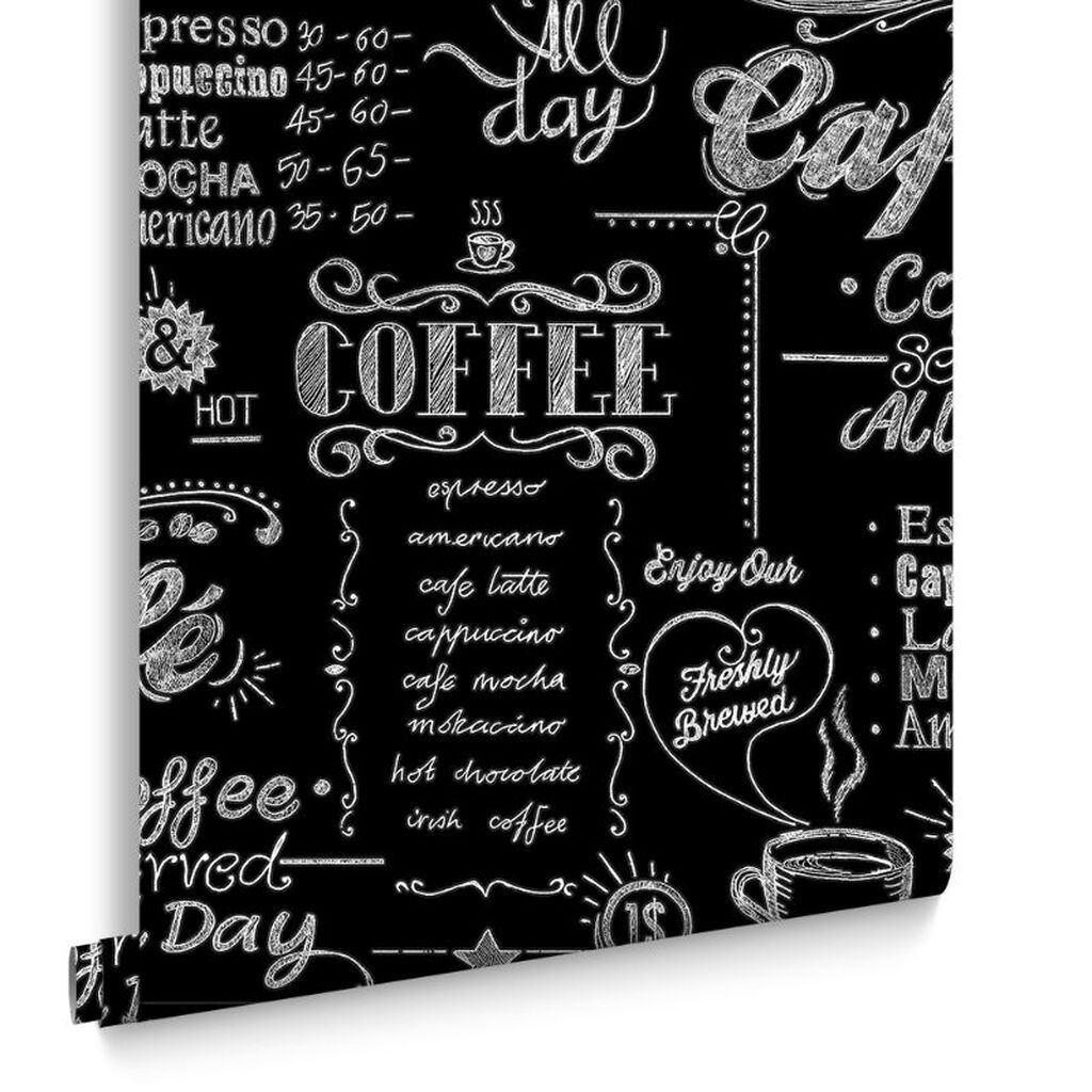 Coffee Shop Black And White Wallpaper Grahambrownus