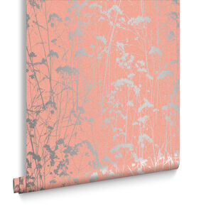 Grace Coral Wallpaper, , large
