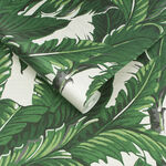 Daintree Palm Pearl Wallpaper