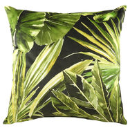 Lush Green Tropical Cushion, , large