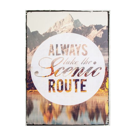 Scenic Route Printed Canvas, , large