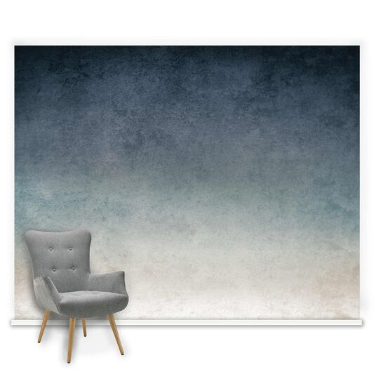 Ink Blue Ready Made Mural, , large