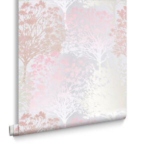Grove Blush Wallpaper, , large