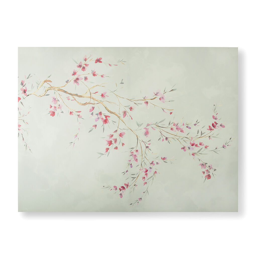 Watercolour Orchid Blossoms Wall Art, , large