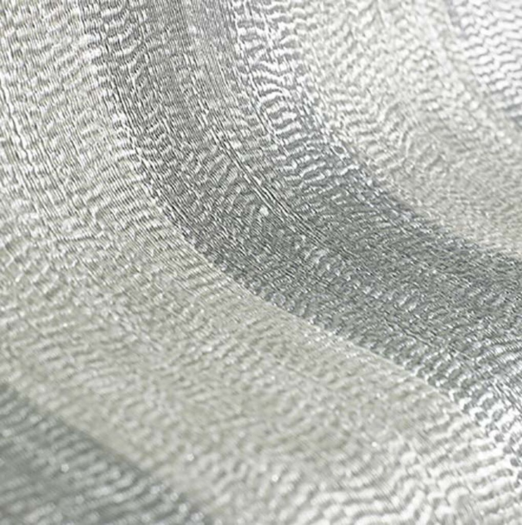Water Silk Stripe Tapete Silber, , large