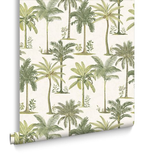 Fresco Palm Wallpaper, , large