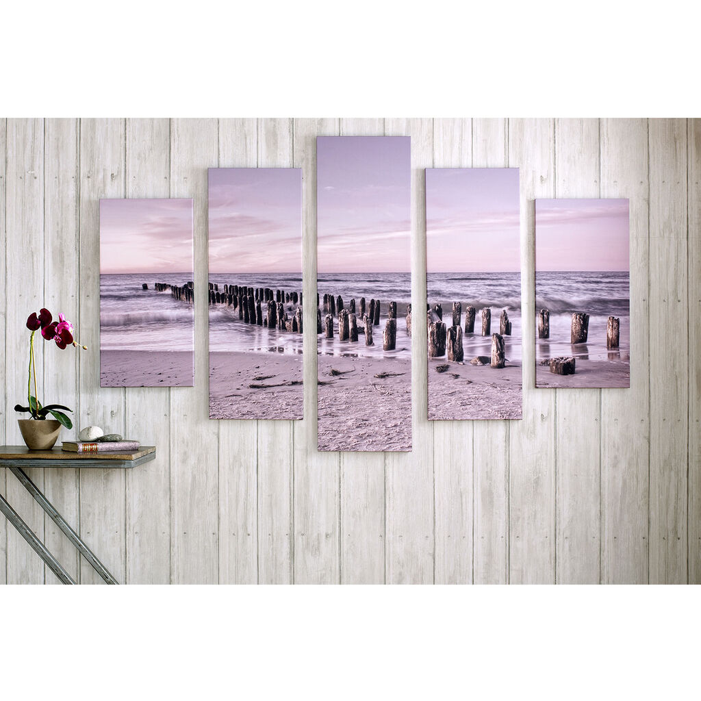 Tranquil Seascape Printed Canvas Wall Art, , large