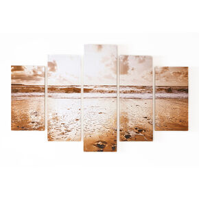 Sunrise Beach Printed Canvas Wall Art, , large