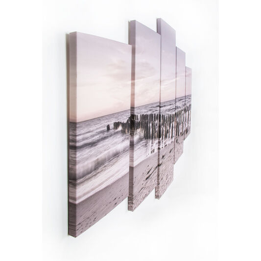 Tranquil Seascape Printed Canvas, , large
