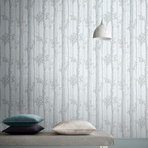 Albero Duck Egg Wallpaper, , large