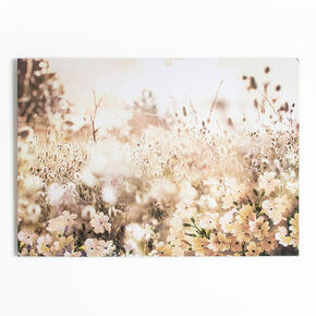 Toile Imprimée Layered Meadow Landscape, , large