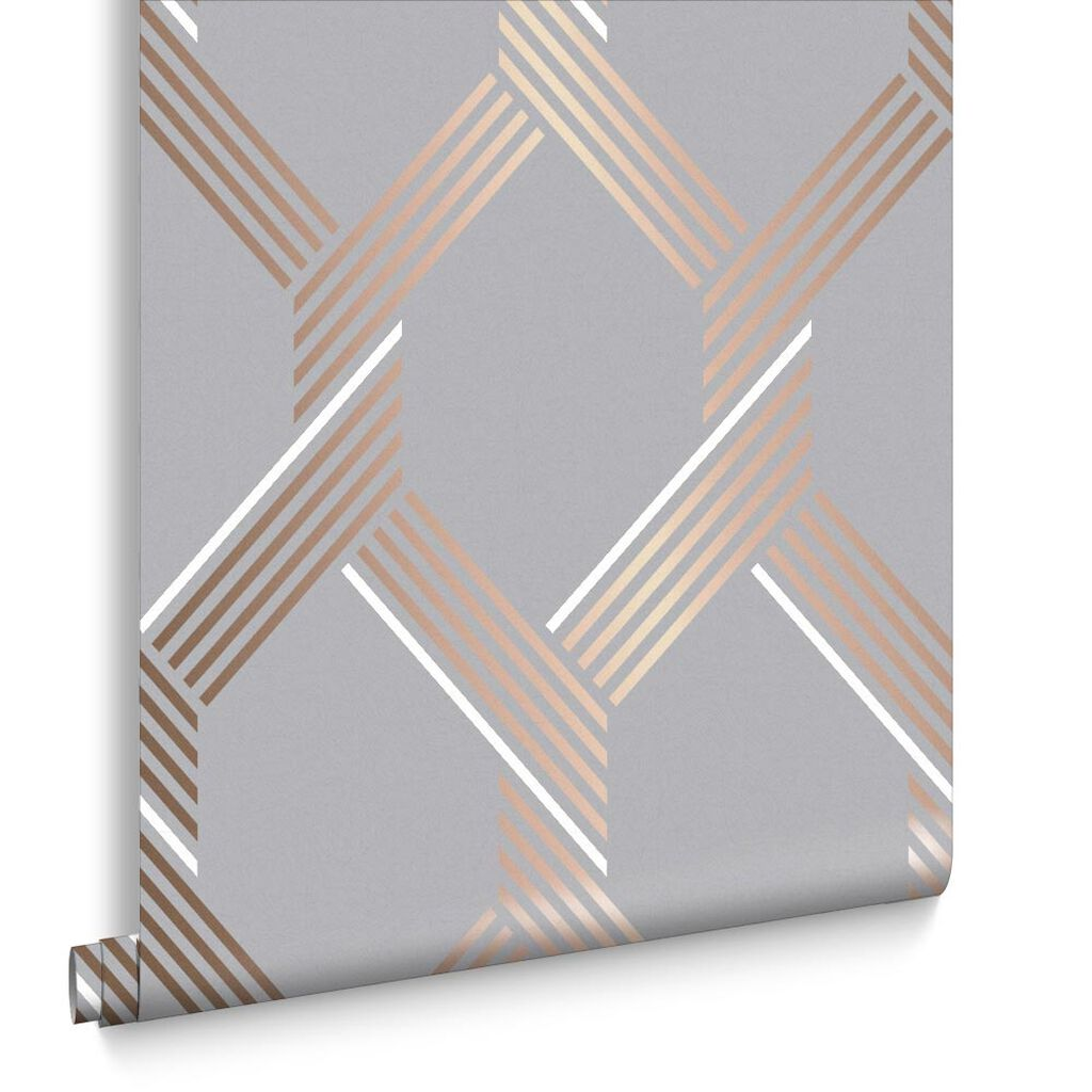 Vector Rose Gold Wallpaper, , large