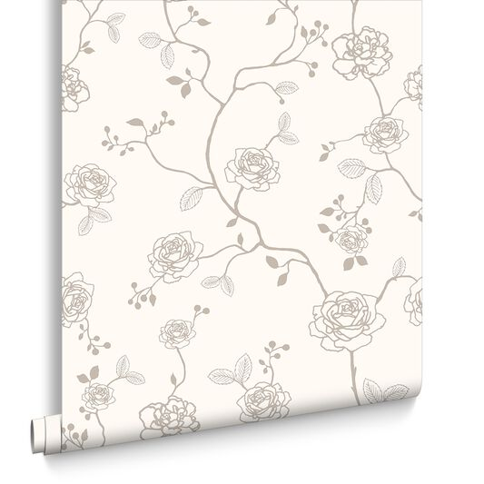 Rose Champagne Wallpaper, , large