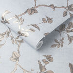 Twining Powder Blue Wallpaper