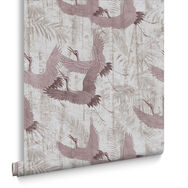 Crane Pink Behang, , large