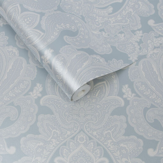 Souk Damask Sky Wallpaper, , large