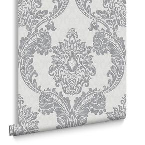 Regent Grey Wallpaper, , large