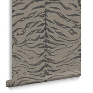 Tiger Taupe Wallpaper, , large