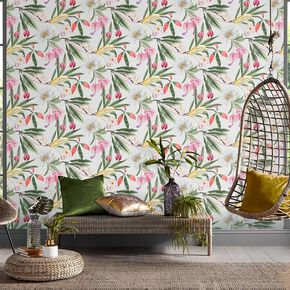 Paradise Chalk Wallpaper, , large