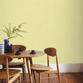 Uni Pastel Jaune Wallpaper, , large