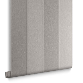 Baroque Bead Stripe Platinum Wallpaper, , large