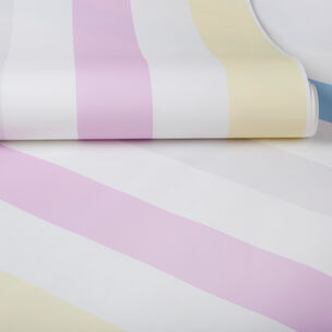 Papier Peint Cotton Candy Stripe, , large