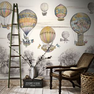 Couture Balloon Race Ready Made Mural, , large