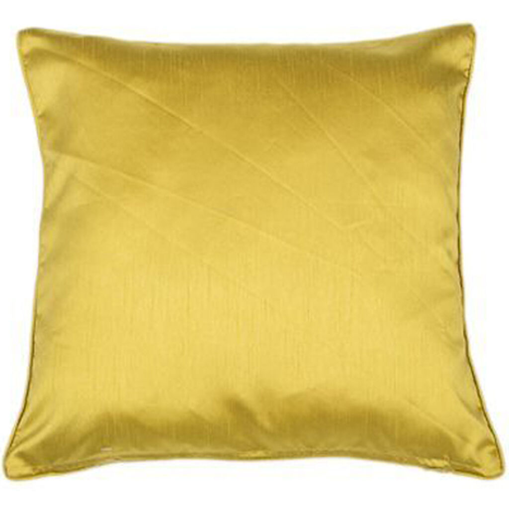 Ochre Lustre Cushion, , large