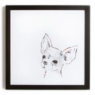 Chihuahua Framed Print Wall Art  Wall Art, , large