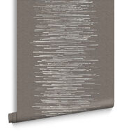 Tornado Stripe Neutral Behang, , large